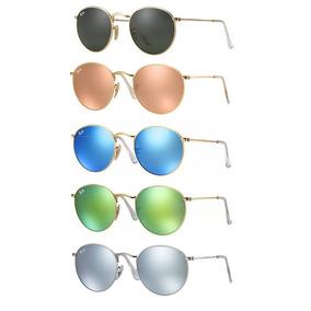 Ray Ban Round Rb3447 De Sol - Óculos no Mercado Livre Brasil 3b5bfd1cdd