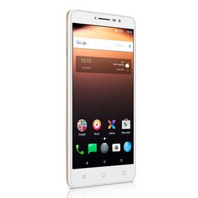 Smartphone Alcatel A3 Xl Dourado Tela 6 16gb 2gb Ram Quad-co