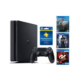 Playstation 4 1tb + Gow, Gts, Uc4