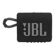 Caixa De Som Jbl Go 3 Portátil Preta Com Bluetooth