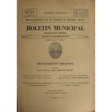 Boletin Municipal De La Ciudad De Buenos Aires 1942-1944