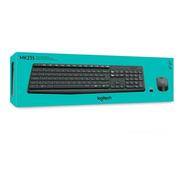 Combo Kit Teclado Y Mouse Inalambrico Logitech Mk235 Usb