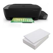 Impresora Multifuncional Hp 410 Tanque Tinta Wifi + Resma