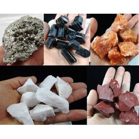 Monte Sua Coleção De Minerais Brasileiros - Escolha 15 Peças