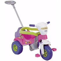 Motoca Infantil Menina Tico Tico Rosa Magictoys Frete Gratis