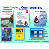 Paquete 8 Libros Comipems Conamat Bachillerato Envio En Dvd*