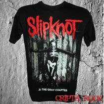 Camiseta Camisa De Banda Rock Heavy Metal Slipknot