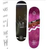 Tabla De Skate Hondar Rhino 8 + Lija + Pernos + Envio
