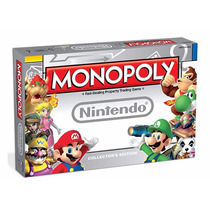 Monopoly Nintendo Mario Edición De Colección Sellado