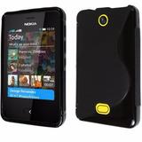 Capa Tpu Silicone Celular Nokia Asha 501 N501 Pelicula