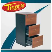Archivo Laminado Fichero Carpeta 3 Cajones Tisera Arch21