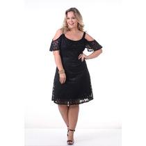 Vestido Renda Plus Size Evangelica Moda Maior Gordinha