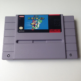 Fita Super Mario World Original - Semi Novo - Super Nintendo