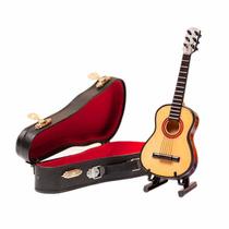 Mini Guitarra De Colección Regalos Adornos Musicos Estuches