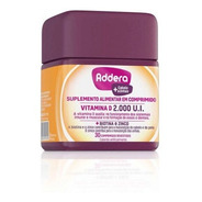 Vitamina D Addera +cabelo & Unhas 2.000ui Com 30 Comprimidos