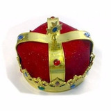 Coroa Luxo Rei Principe Rei Momo Fantasia Carnaval