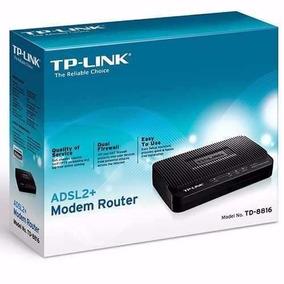 Modem Tp-link Router Adsl2 Td8816 Banda Ancha Internet Cantv
