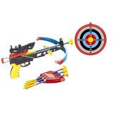 Conjunto Crossbow Com Infravermelho Besta Arco E Flecha