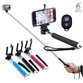 Monopod Selfies Con Base Con Control Samsung Iphone Nokiaxtc