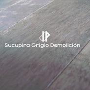 Piso Madera Sucupira Grigio Demolicion 18x140mm Indusparquet