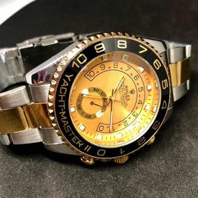 fdd2d027d01 Relogio Rolex Yachtmaster De Aco - Joias e Relógios no Mercado Livre ...