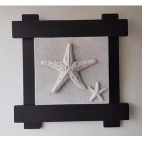 Cuadro Estrella Mar Marmolina Elegante Minimalista Moderno
