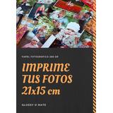 Imprime Tus Fotos. 50 Fotos De 21x15 Cm En Glossy De 260gr