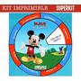 Kit Imprimible Tarjetas Giratorias Invitaciones + 10000 Item