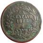 1 Centavo Juárez 1888/7 Mo República Mexicana