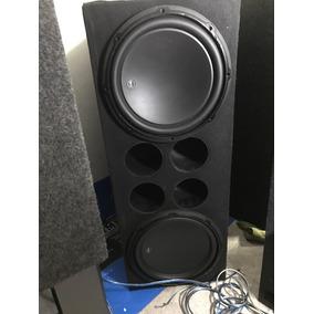 Los Mejores Woofers Del Mundo Jl Audio 12w3 Finísimos