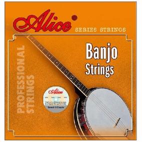 Juego De Cuerdas Para Banjo 5 Cuerdas Alice