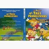 Dvd Os Tres Porquinhos Sonhos Magicos