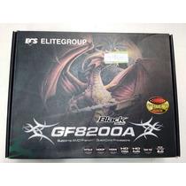 Placa Mãe Gamer Gf8200a Black Series