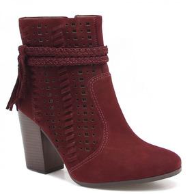 Bota Ankle Boot Dakota Vazado (nota Fiscal) | Zariff