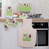 Concord | Set De Accesorios Decorativos De Cocina Manzanas