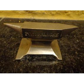 Antiga Miniatura De Bigorna Em Metal - R 4942