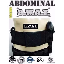 Coldre Abdominal Swat Universal Ambidestro Tamanho P M G Gg