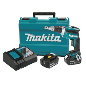 Kit Atornillador Tablaroca Inalambrico Makita Xsf03mb