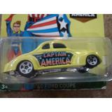 Hot Wheels Capitan America Clasico   Hotwheels Claritoys