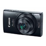 Cámara Digital Canon Powershot Elph 190 Is Base Negro