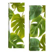 Quadros Para Sala Quarto Folhagem Verde Par 20x60cm R1