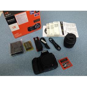Câmera Fotográfica Sony Alpha 57 Slt-a57k Nova Completa