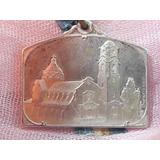 Medalla Piedra Fund. Templo Ntra Sra De Lujan 1934 Rosario