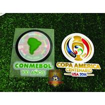 Set Parches Copa América. Argentina. Chile.