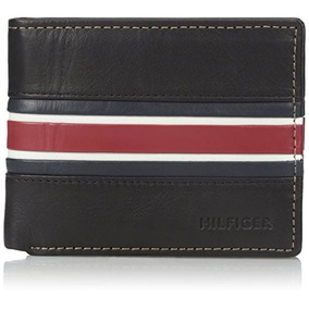 Billetera Tommy Hilfiger Cuero Double Billfod