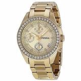 Reloj Fossil Es 2683 Dama Pulcera De Acero Inoxidable 100%or