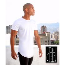 Franela Oversized Unicolor Blanca/negra Tallas S M Y L