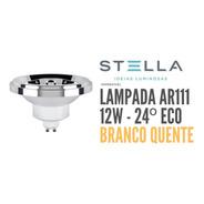 Lâmpada Ar111  Stella 12w Angulo 24º 2700k Sth8444/27