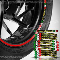 Kit Marchesini Suzuki En 125 Yes Cartela Adesivos Roda Friso