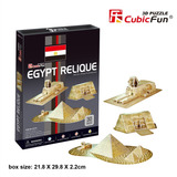 Cubicfun Rompecabezas 3d Reliquias De Egipto 38 Piezas C077h